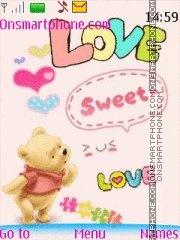 Sweet Love 04 es el tema de pantalla