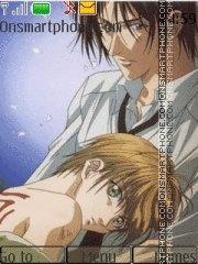 Yami no Matsuei theme screenshot
