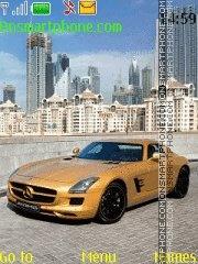 Mercedes SLS AMG es el tema de pantalla
