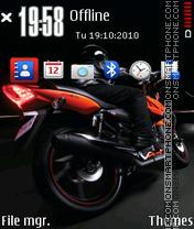 Nice Bike 03 es el tema de pantalla