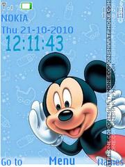 Mickey Icons theme screenshot