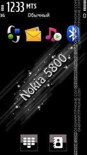 Nokia 5800 03 theme screenshot