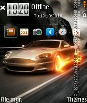 Fire Car 04 es el tema de pantalla