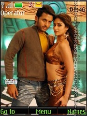 Nitin Reddy and Ileana D'Cruz theme screenshot