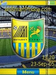 FC Metallist Yari es el tema de pantalla
