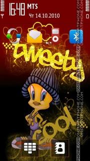 Tweety Cool es el tema de pantalla