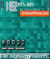 Nod32 theme screenshot