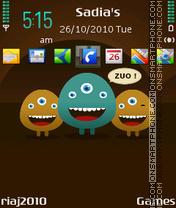 ZUO es el tema de pantalla
