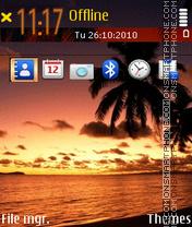 Palms 03 es el tema de pantalla
