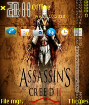 Assasins Creed II theme screenshot