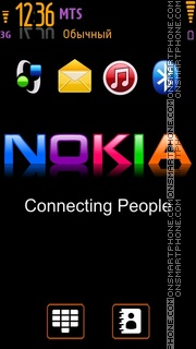 Nokia In Colours theme screenshot
