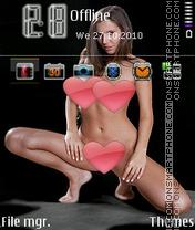 Hotgirl1 es el tema de pantalla