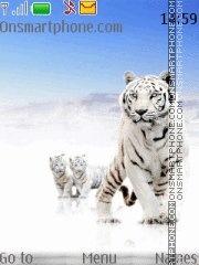 Tiger With Tone 01 theme screenshot