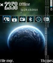 Space 17 theme screenshot