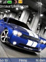 Dodge Challenger theme screenshot