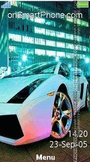 Lamborghini 35 es el tema de pantalla