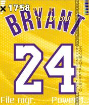 Bryant 24 theme screenshot