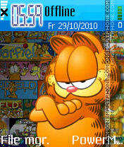 Garfield 33 theme screenshot