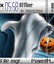 Ghost 01 es el tema de pantalla