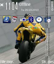 Valentino Rossi 03 es el tema de pantalla