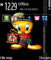 Tweety 14 theme screenshot