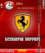 Scuderia Ferrari es el tema de pantalla