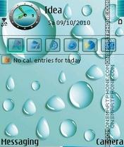 WaterDrops es el tema de pantalla