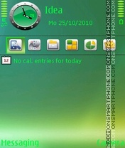 Shadow Green theme screenshot