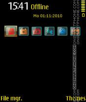 Black&Yellow es el tema de pantalla