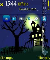 Castle Halloween es el tema de pantalla