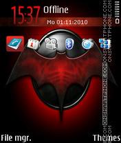 Batgirl emblem es el tema de pantalla