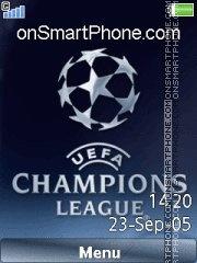 Champions League 08 es el tema de pantalla