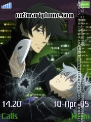 Darker Than Black es el tema de pantalla