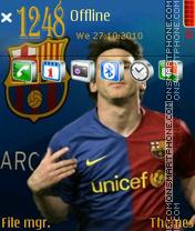 Messi 06 es el tema de pantalla