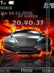 Avto Clock theme screenshot