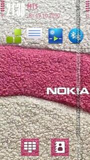 Pink Nokia 01 es el tema de pantalla