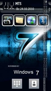 Windows 7 22 es el tema de pantalla