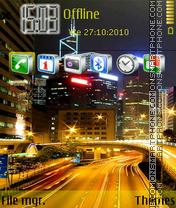 City traffic theme screenshot