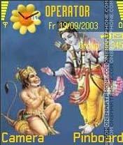 Ram Hanuman es el tema de pantalla