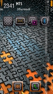 Puzzle 02 theme screenshot