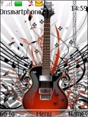 Guitar With ringtone es el tema de pantalla