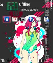 My music 01 theme screenshot