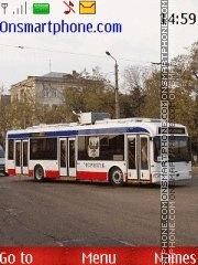 Trolleybus theme screenshot