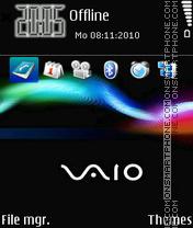 Sony vaio 02 es el tema de pantalla