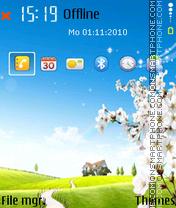 Landscape 11 es el tema de pantalla