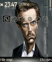 Hughlaurie tema screenshot
