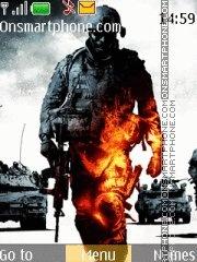 Battlefield BC2 theme screenshot