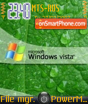 Vista 01 theme screenshot