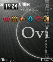 Ovi3rd theme screenshot