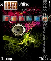Music 5323 theme screenshot
